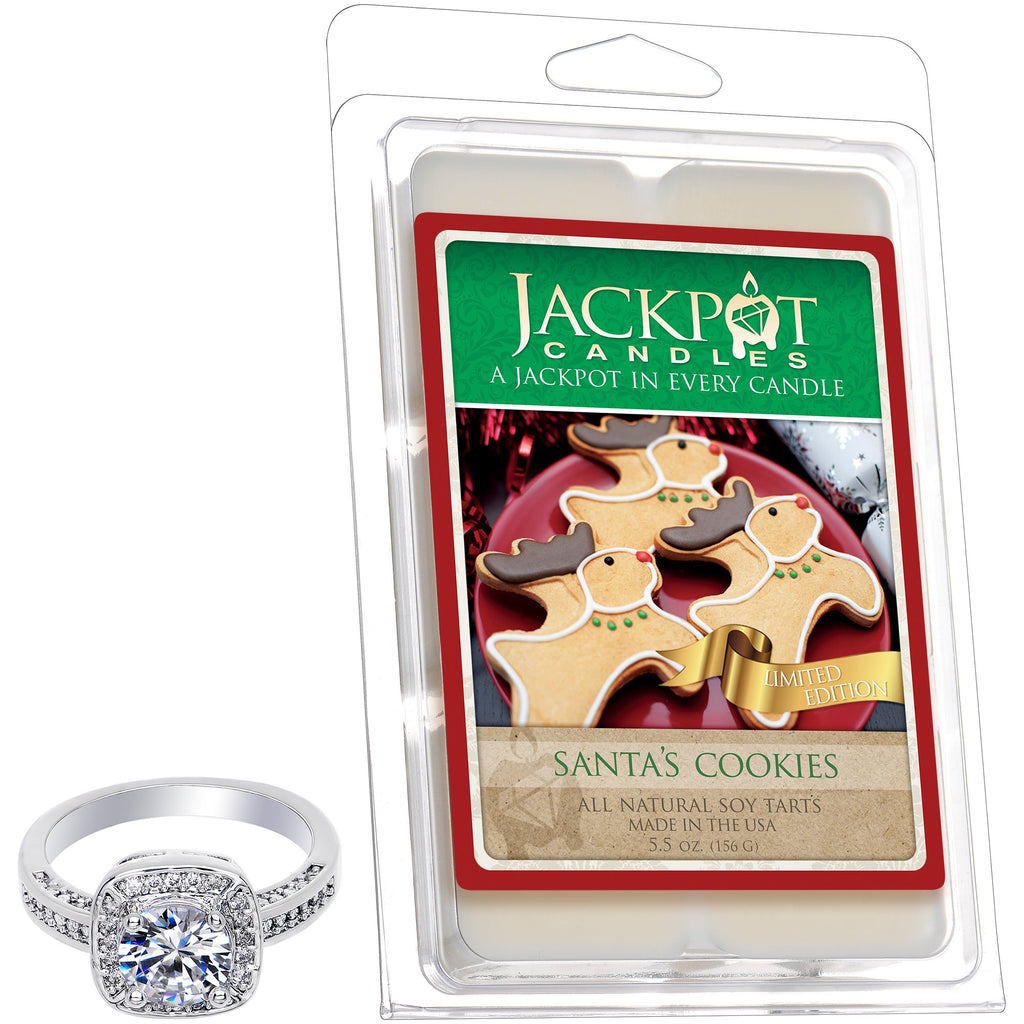 Santa's Cookie Jewelry Wax Tart
