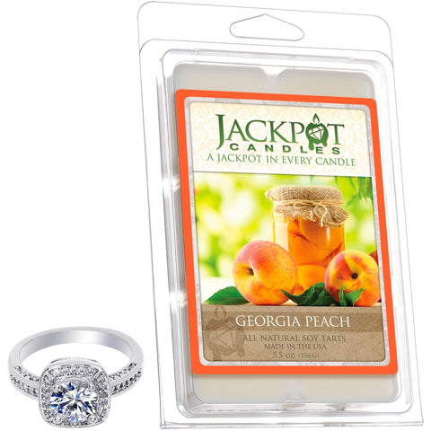 Georgia Peach Jewelry Tart Wax Melts