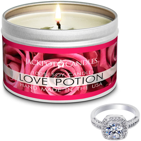 Image of Love Potion Jewelry Candle Travel Tin