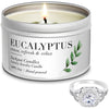 Eucalyptus Jewelry Candle Travel Tin Ring