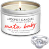 Santa Baby Jewelry Candle Travel Tin