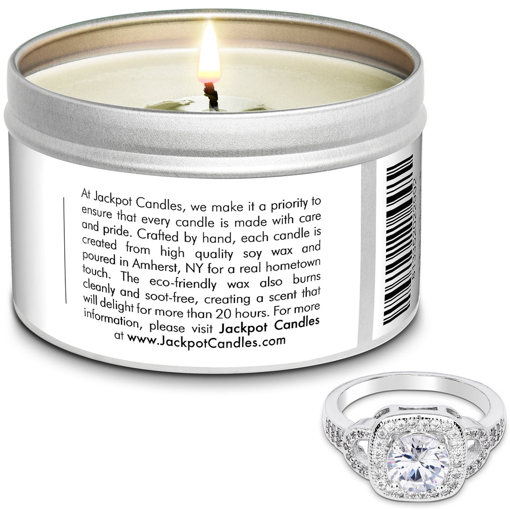 Jack Frost Jewelry Candle Travel Tin