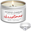 Christmas Jewelry Candle Travel Tin