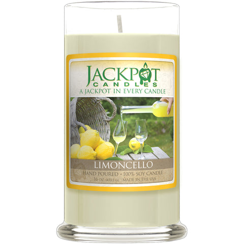 Limoncello Jewelry Ring Candle