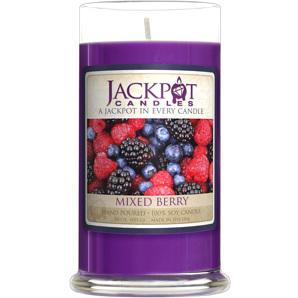 Mixed Berry Jewelry Ring Candle