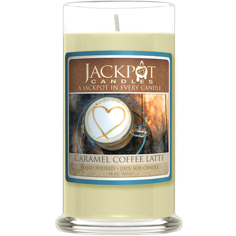 Caramel Coffee Latte Jewelry Candle