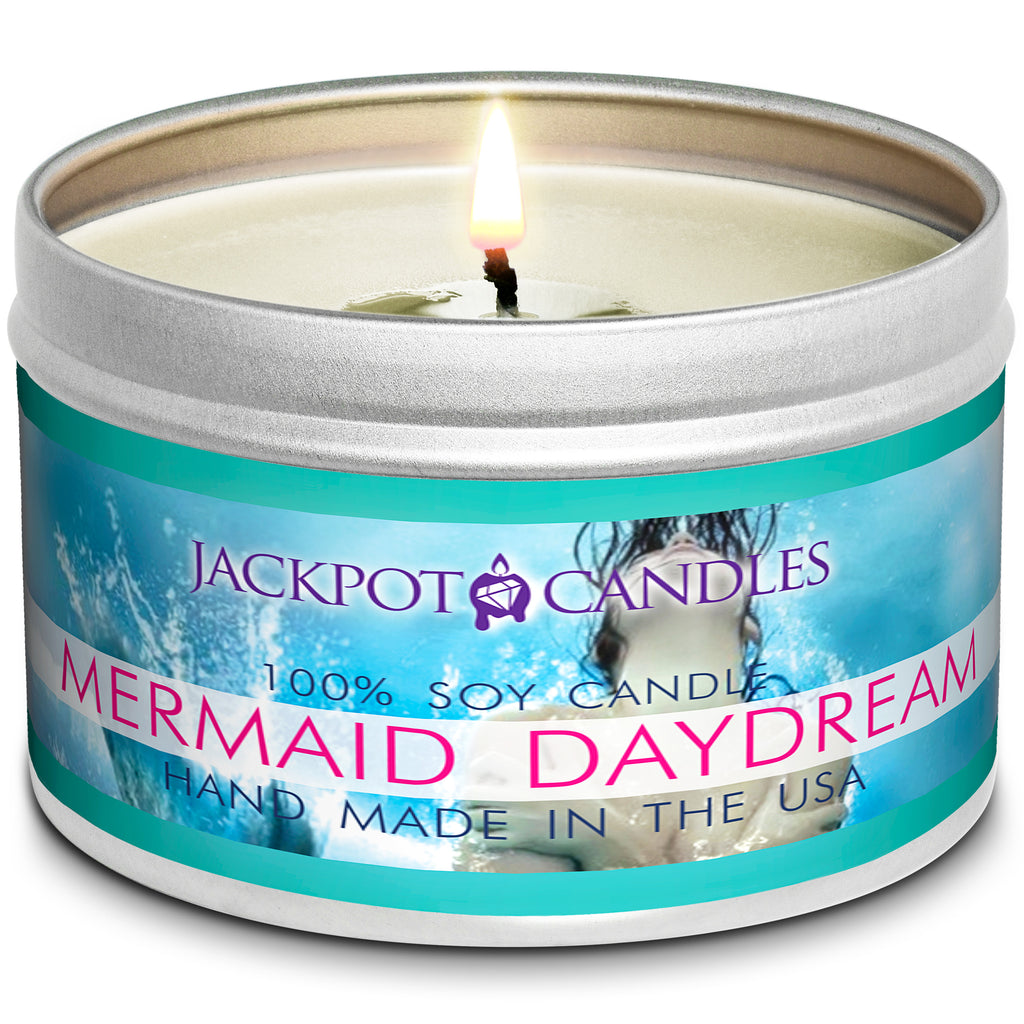 Mermaid Day Dream Jewelry Candle Travel Tin