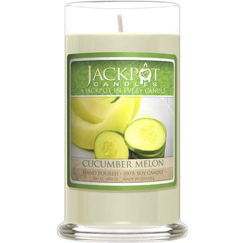 Cucumber Melon Jewelry Candle