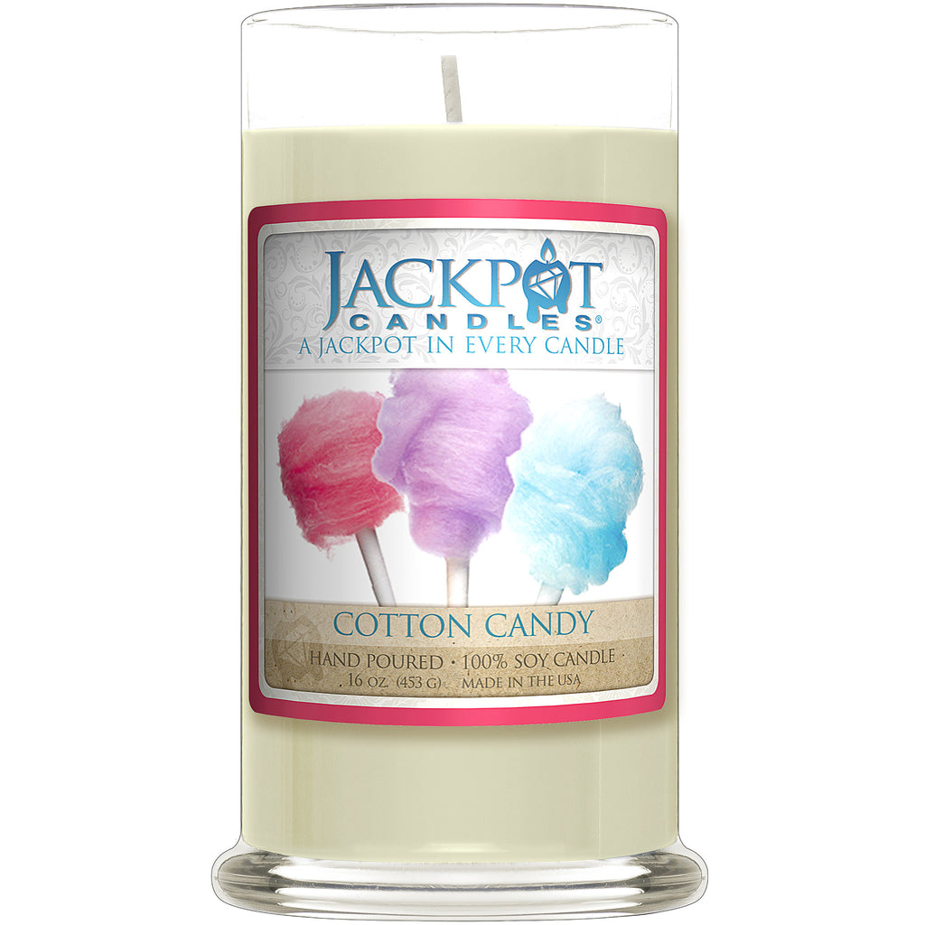 Cotton Candy Jewelry Ring Candle