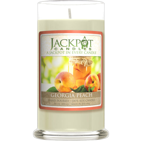 Georgia Peach Jewelry Candle
