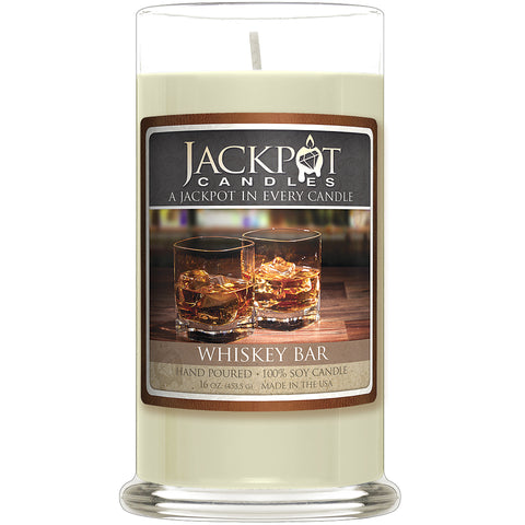 Whiskey Bar Jewelry Ring Candle