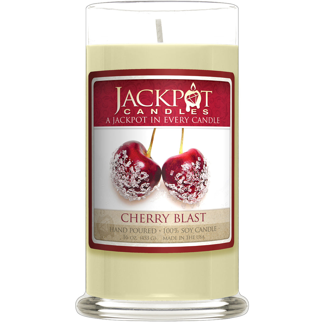 Cherry Blast Jewelry Ring Candle - Size 6