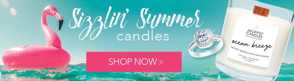 Summer Collection Jewelry Candles