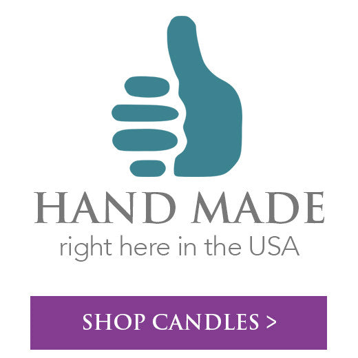 Shop handmade in the USA candles >