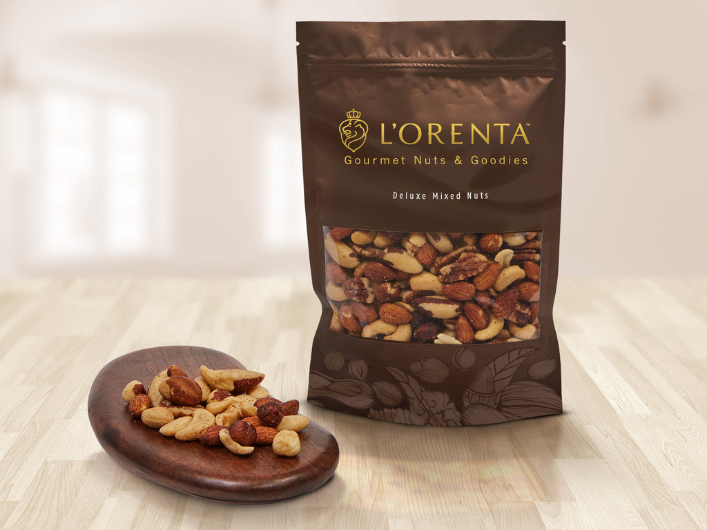 L'Orenta Select Mixed Nuts - 12 oz, 16 oz