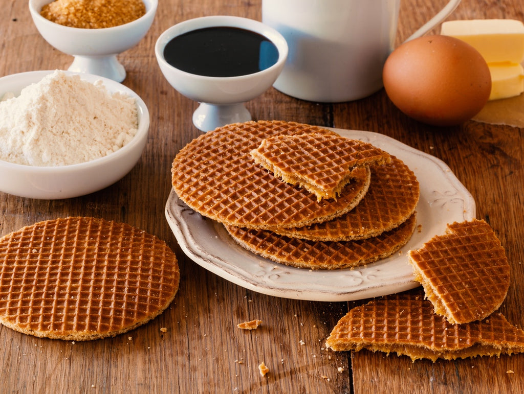 Enjoy L'Orenta Stroopwafels with a hot beverage for added deliciousness