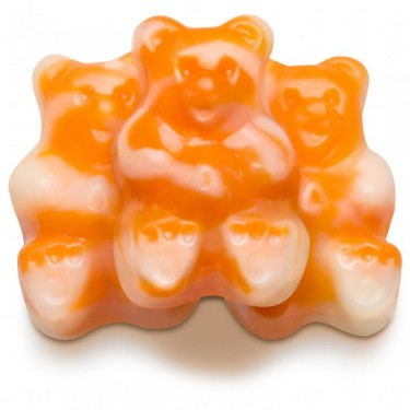 Orange Cream Gummy Bearsicles (Gummy Candy)