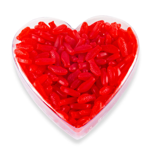 Gummy Red Fish in Heart