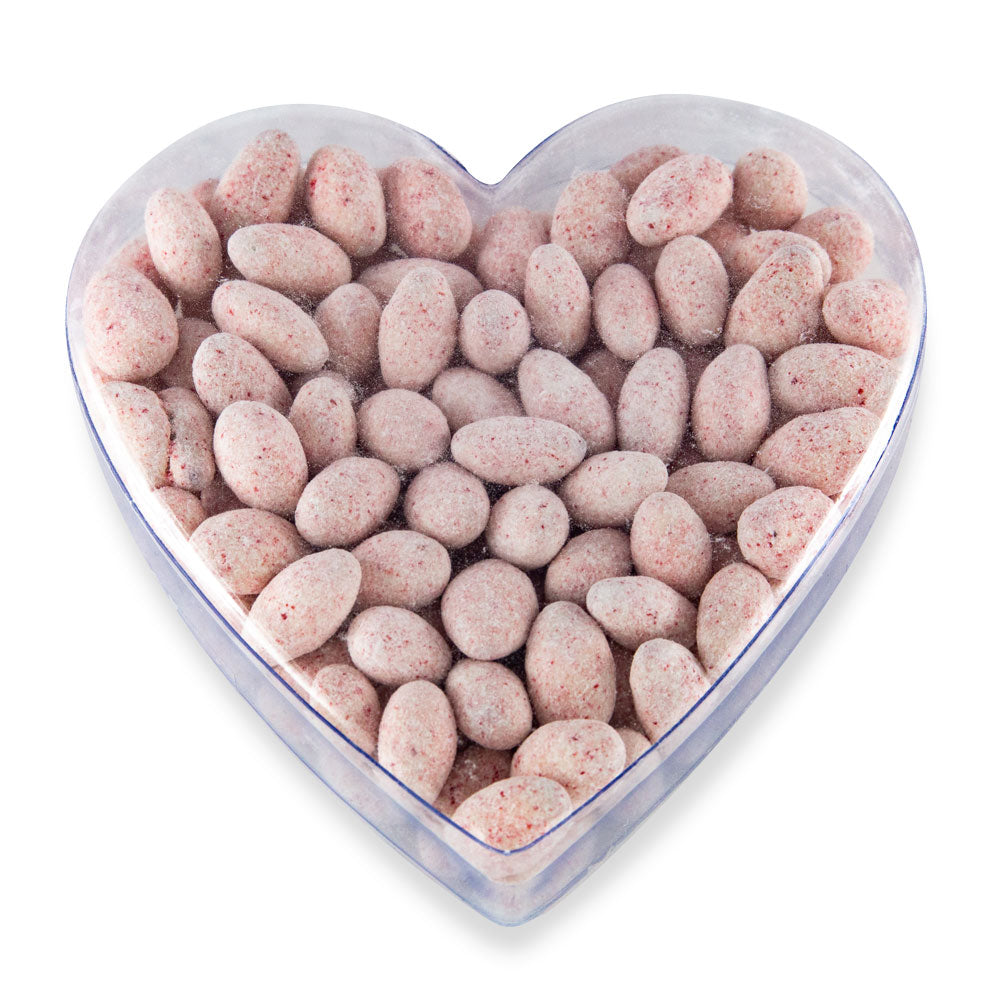 Peppermint Almonds in Heart