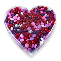 Valentine's Chocolate Gems in Heart