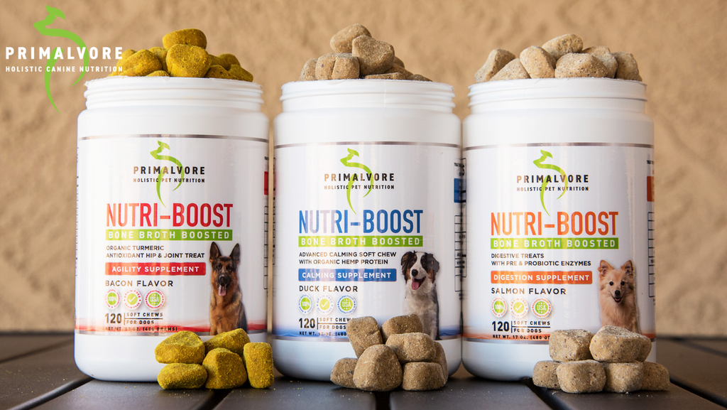 Introducing Bone Broth Boosted Supplement Chews