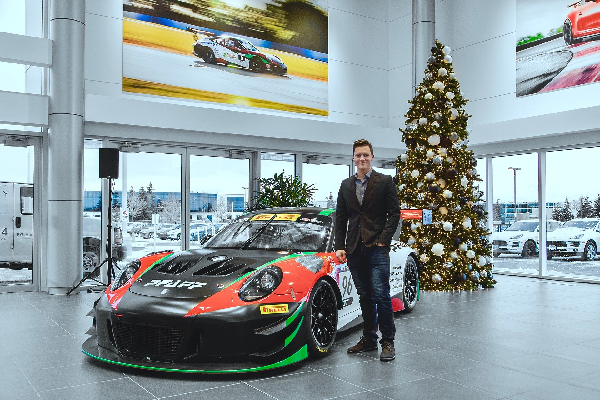 Hargrove Enters 2018 Pirelli World Challenge with Pfaff Motorsports and Porsche