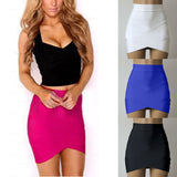 Women Ladies High Waist Midi Slim Pencel Tube Stretch Cotton Blends Pencil Skirt Clothing