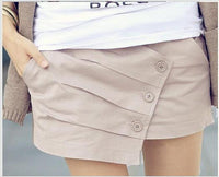 New Fashion Women Spring Summer Shorts Plus Size Shorts Casual Culotte Shorts Women Free Shipping