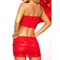 Europe and America sexy woman Sexy lingerie large size Sexy lace Nightgown #Q01347