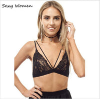 New Hot Women Sexy Floral Sheer Lace Bra Top Seamless Bralette Transparent Cup Wireless Bras Brassiere Lingerie brasier mujer
