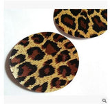 Free shipping Sexy experience 50 pairs (100Pcs) / Leopard Pasties Nipple Covers 5colors