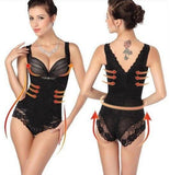 Lady Sexy Corset Slimming Suit Shapewear Body Shaper Magic Underwear Bra Up New