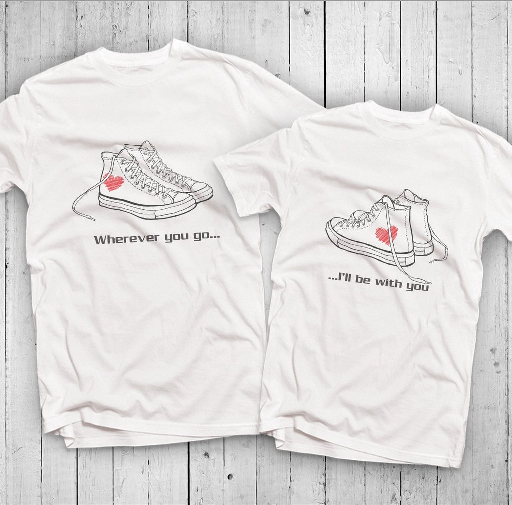 Converse Sneakers Couple T-Shirt