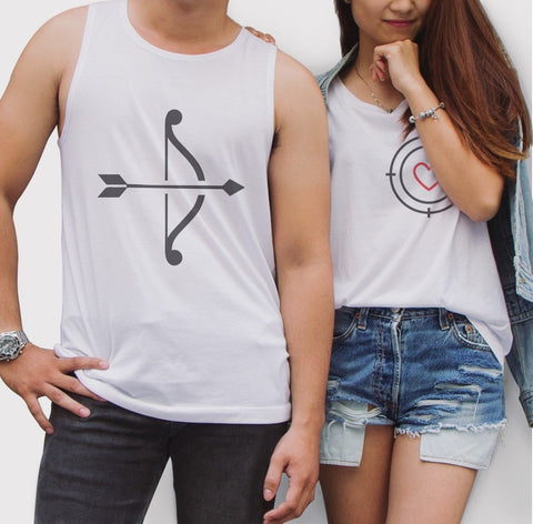 You are my Sun Moon Couple Tank Top