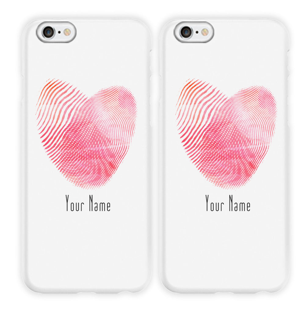Fingertips Heart Phone Cases
