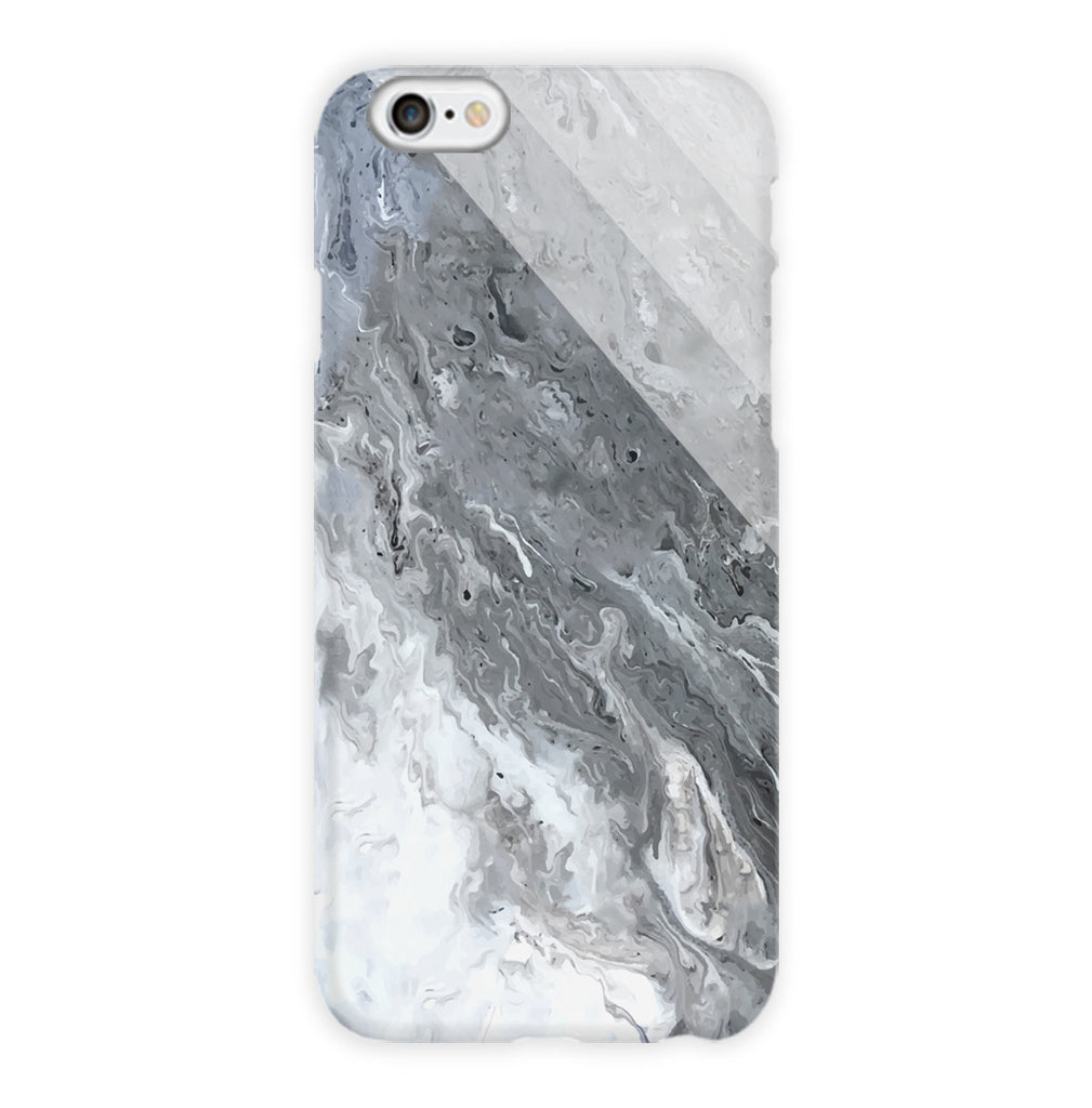 Grey Milky Marble Stone Phone Case