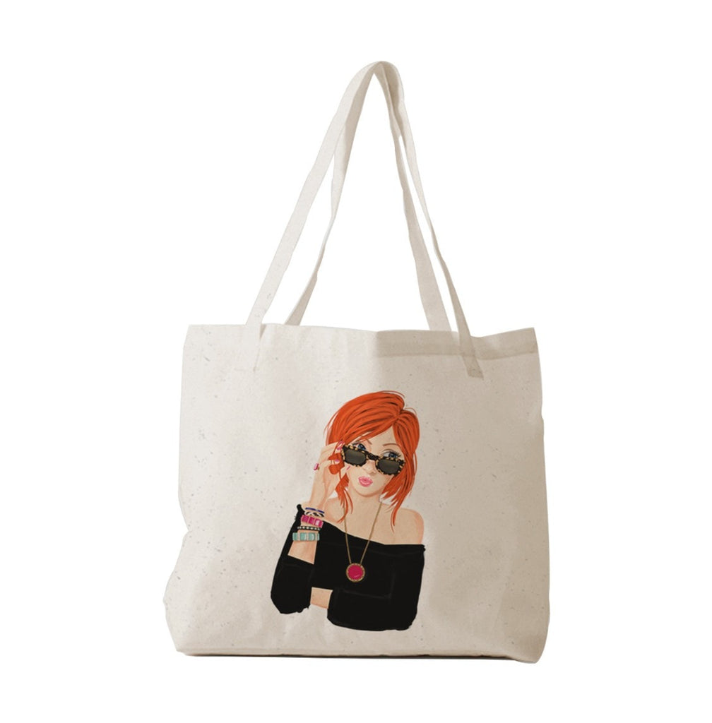 Fashion Girl Tote Bag