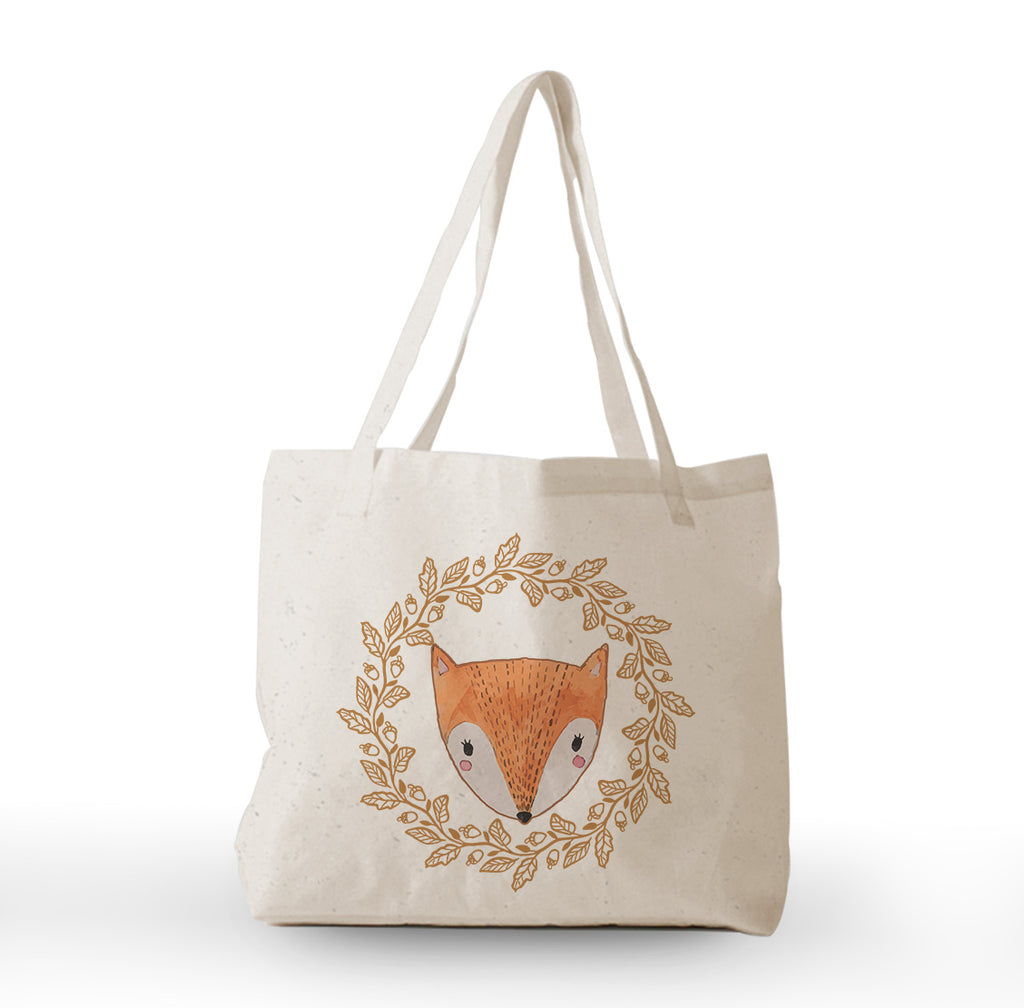 Cute Fox Tote Bag