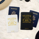 Let's Escape Passport Holder