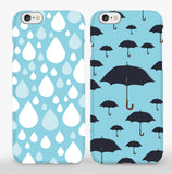 Raining Couple Phone Cases