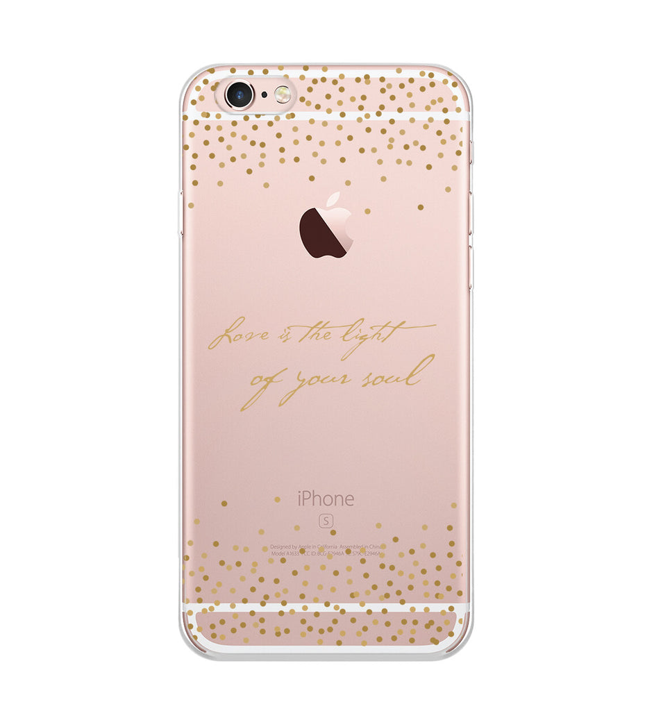 Love is the Light Phone Case