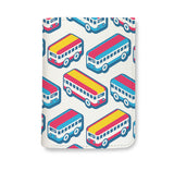 Colorful Bus Cartoon Wallet