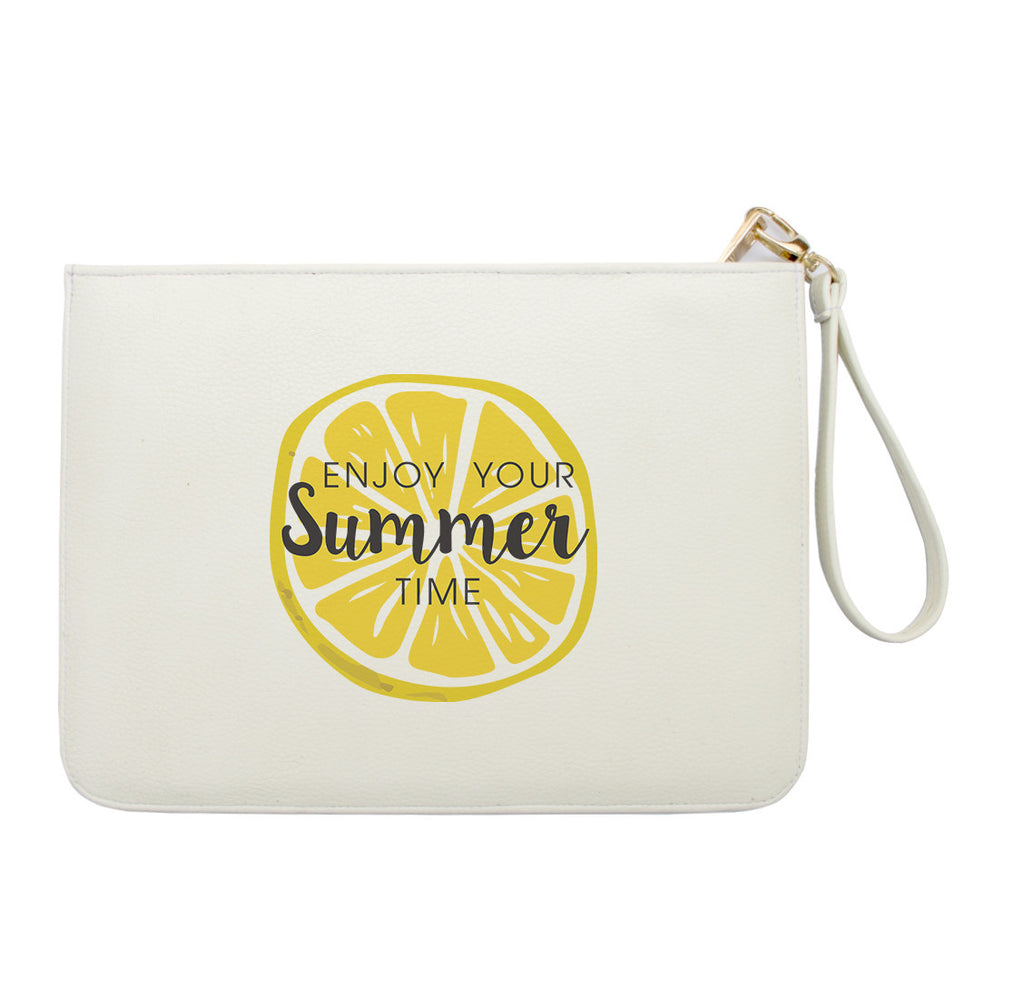 Enjoy your Summer Time Lime Clutch
