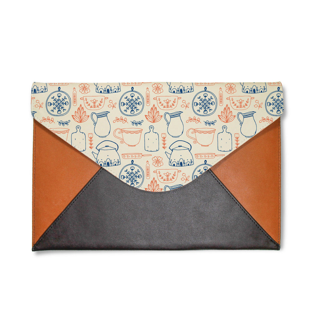 Teapot Envelope Clutch