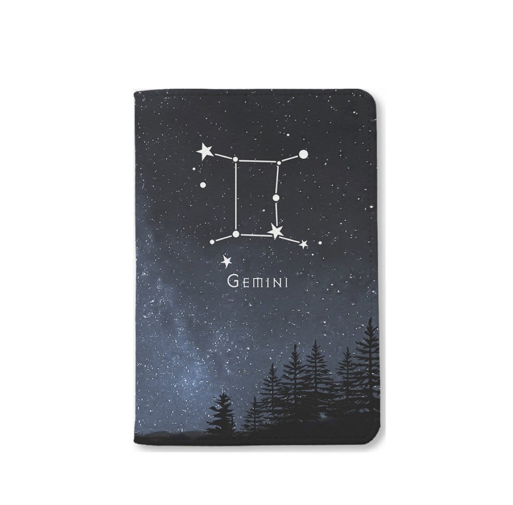 Gemini Zodiac Passport Holder