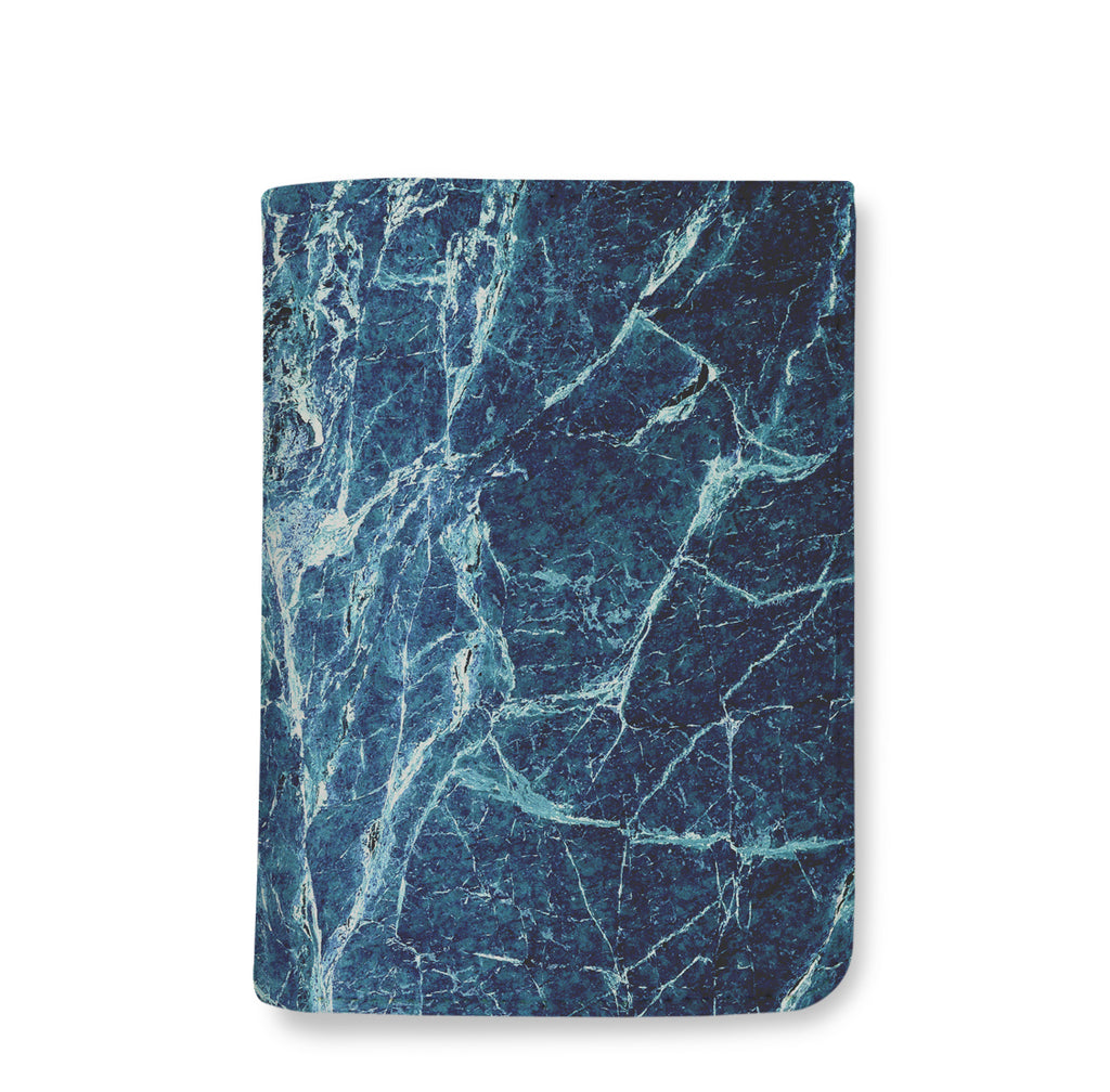 Dark Blue Marble Wallet