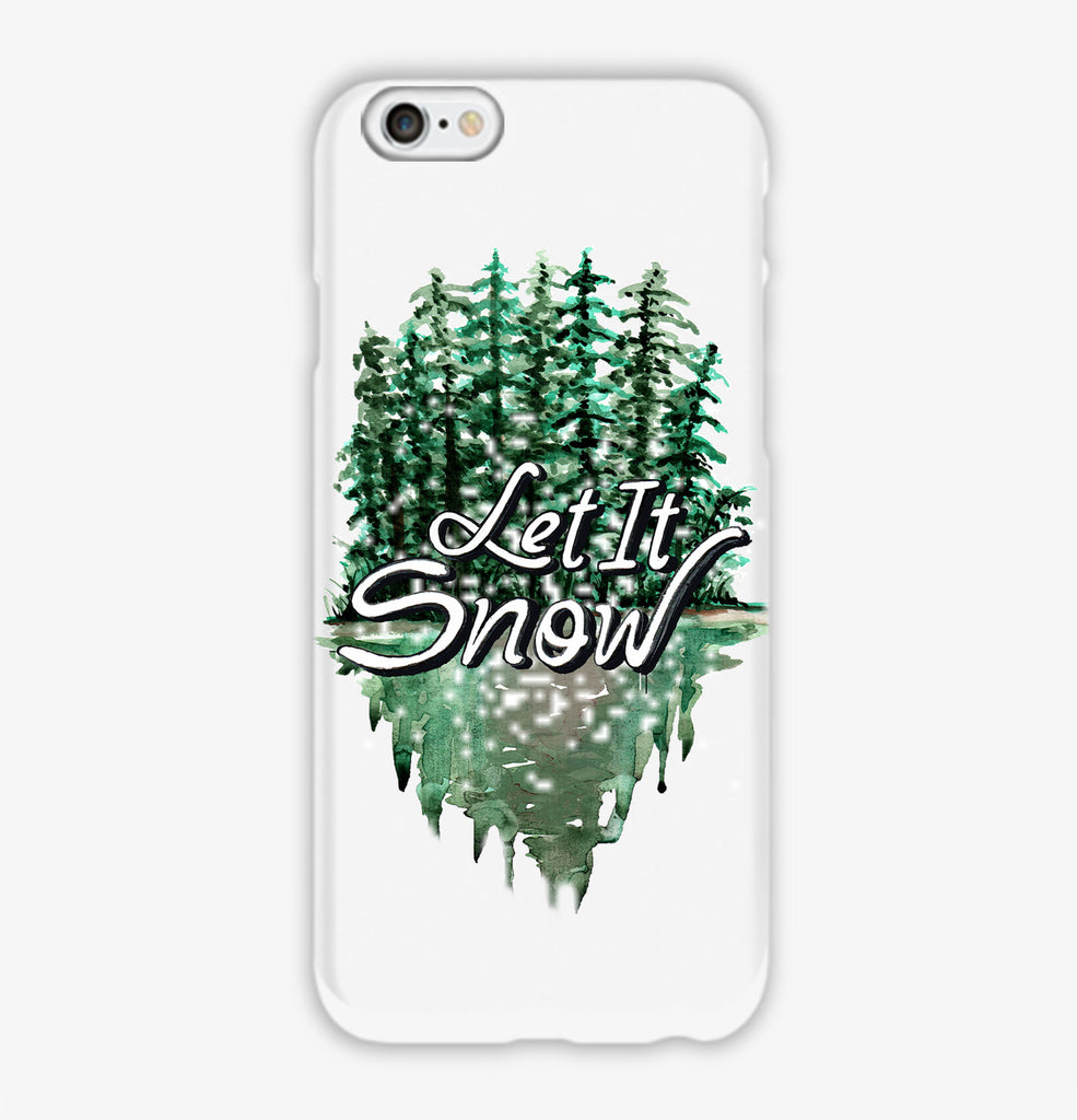 Let It Snow Phone Case