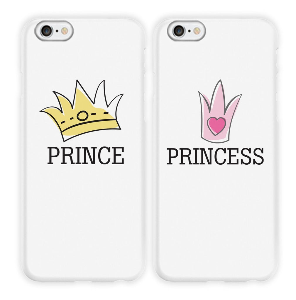 Prince & Princess Couple Phone Cases