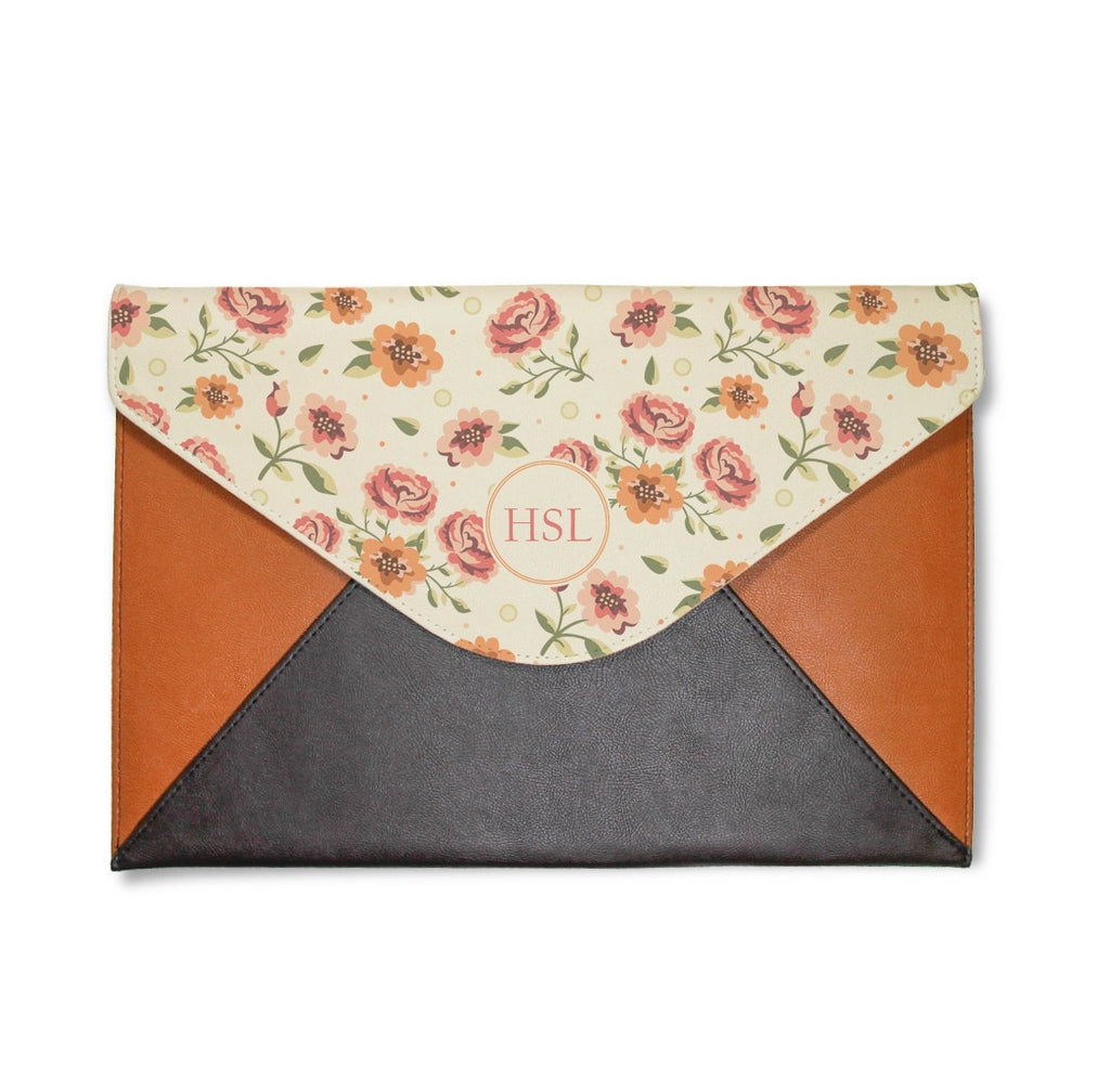 Flowers Envelope Clutch