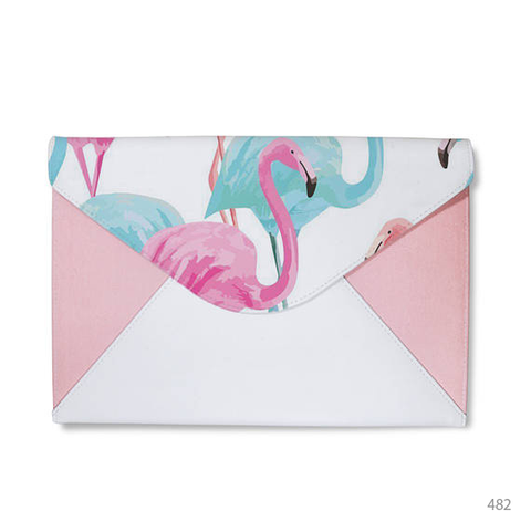Mountain Flora Envelope Clutch
